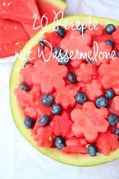 • 20 leckere REZEPTE mit Wassermelone •