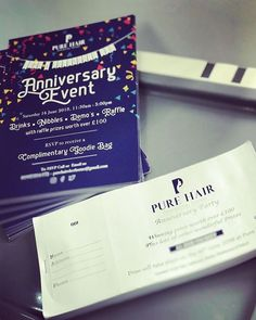 Raffle tickets now on Sale for the 16th June!!! Dont miss out!! We have some absolutely fabulous prizes. Lots more to be announced! #raffle #tickets #sherborne #hairdressers #salon #hairsalon #anniversary #party #dorset