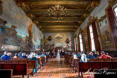 Jennifer and Chris- Santa Barbara Courthouse Mural Room Wedding Photos #santabarbara #weddings