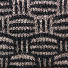 Vævestrik mønster