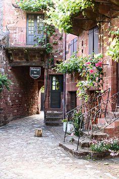 The most beautiful villages in Corrèze: Collonges-la-Rouge