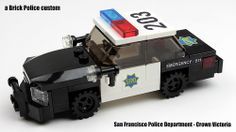 Lego Police Car, Lego Cars, Lego Tv, Lego Truck, San Francisco, Lego Bathroom, Lego Wheels, Lego Knights, Lego People