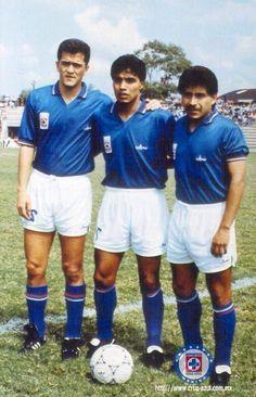 Carlos Hermosillo, Pedro Duana y Porfirio Jiménez.