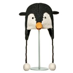 Peppy the Penguin Animal Hat.   Knitwits, Knit Wits, Animal Hats