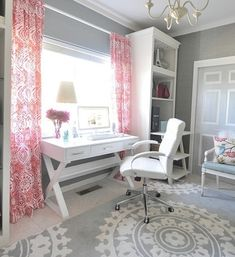 17 Pink Office Ideas : Cute Space For Girl