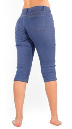 Coton Bio, Bermuda Shorts, Capri Pants, Women, Fashion, Moda, Capri Trousers, Women's, La Mode