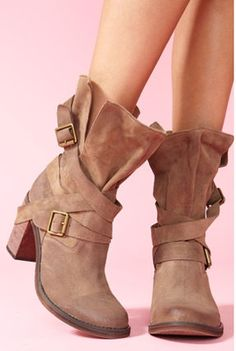 Jeffrey Campbell☆France Strapped Boot☆