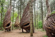 "This unique project is the result of Will Beckers' creative energy and insight. The realisation and creation of the Willowman's domain is the fruit of year's of observation, study, imagination and a desire to show how a real ""back to basics"" sustainable existence could dare to become reality."