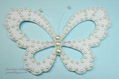 borboleta feltro (felt buterfly) | Gracinhas Artesanato