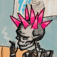 "skullisa 💚 on Twitter: ""hold on to me like a true love...… "" Drawing Sketches, Art Drawings, Arte Punk, Arte Horror, Psychedelic Art, Aesthetic Art, Dark Art, Collage Art, Cute Art"
