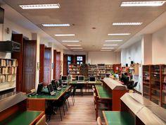 Sala de consulta de la Biblioteca