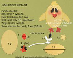 Sweet Chick Punch Art - bjl