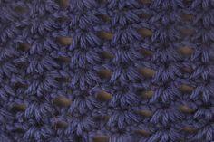 Tunisian Crochet: Tunisian Cluster Stitch