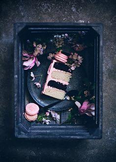 Neapolitan cake by Call me cupcake, via Flickr