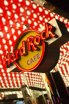 Eat at a Hard Rock cafe and buy a tee