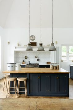 cool A lovely big island by deVOL with oiled oak worktops to match our weathered oak ... by http://www.best-100-home-decor-pictures.xyz/kitchen-designs/a-lovely-big-island-by-devol-with-oiled-oak-worktops-to-match-our-weathered-oak/