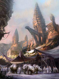 Breathtaking Fantasy Landscapes & Scenery