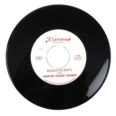 """Everton Pliers Bonner / Solid Gold Orchestra: Murder She Wrote / Tracks Of Love Vinyl 7"""""""