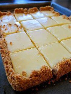 Cooking Chef | Delicious Recipes: Creamy Lemon Squares