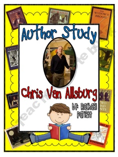Chris Van Allsburg Author Study Unit product from Rachael-Parlett on TeachersNotebook.com Reading Words, Reading Fluency, Reading Strategies, Reading Activities, Library Lessons, Library Ideas, Third Grade Books, Teacher Notebook, Author Studies