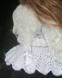 Vintage Inspired Fluffy Knitted Cardigan