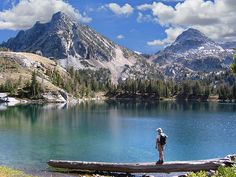 Ice Lake in the Wallowa Mountains, Oregon  Beautiful memories both as a child and an adult hiking to Ice Lake!  <3