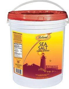 Roland Coarse Sea Salt, 27.8-Pound Package - http://spicegrinder.biz/roland-coarse-sea-salt-27-8-pound-package/