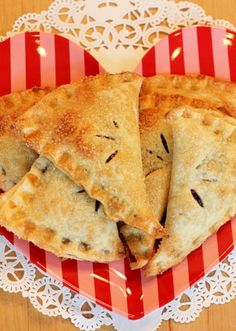 Berry Sweet Hoedown Hand-Pies aka Lori D's AMAZING Hand Pies from the OCF Memorial Day BBQ! I still need to get the crust recipe from her but I can't wait to try!