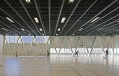 Libergier Sports Centre,© Philippe Ruault