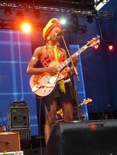 Fatoumata Diawara, June 12 - Photo by Oren James Klinger