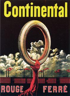 Publicité Continental de 1910. Venez découvrir les modèles de pneus Continental ici: http://www.allopneus.com/Gamme-continental-1,7,8-35.html