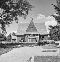 vuonna 1693 valmistunut Iitin kirkko. Kyytinen Pekka, kuvaaja 1953