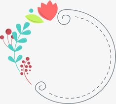 Stock Design, Web Design, Logo Design, Frame Floral, Flower Frame, Flower Text, Cute Borders, Borders And Frames, Background Powerpoint