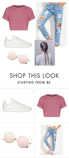 """Untitled #65"" by iamalyceparis on Polyvore featuring adidas Originals and BasicGrey"
