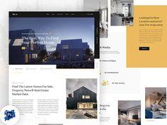 Real Estate Landing Page – Free PSD