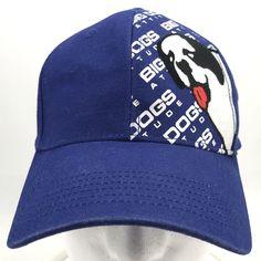 2bab37ed8d9 Big Dogs Attitude Blue Baseball Cap Dad Hat Adjustable Strapback  BigDogs   BaseballCap  ad