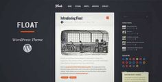 Float - Responsive Blog Wordpress Theme | DOWNLOAD & REVIEW