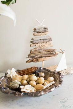 Driftwood Tree in our Entry