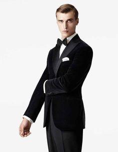 A Black Velvet Tuxedo Jacket looks Handsome, yet never Too Formal.