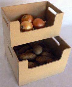 Onion and Potato bins