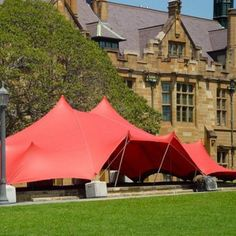 Sydney Uni, What a great back drop for our Red Marquee