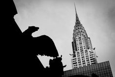 https://flic.kr/p/ihgq2k | Chrysler Building | The Chrysler Building is an Art Deco style skyscraper in New York City, located on the east side of Manhattan in the Turtle Bay area at the intersection of 42nd Street and Lexington Avenue.
