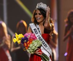 Miss Universo 2010. Ximena Navarrete, Miss México. ETHAN MILLER/GETTY