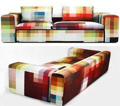 Pixel Sofa... Hele interessante kleurstellingen op dit bankstel hehe
