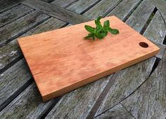 How To Make A Wooden Cutting Board: Free Woodworking Tutorial