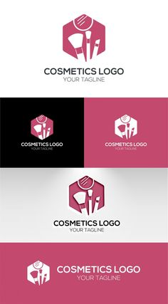 cosmetics logo template Free Logo Templates, Cosmetic Logo, Luxury Cosmetics, Great Logos, Mockup, How To Memorize Things, Awesome Logos, Miniatures, Model