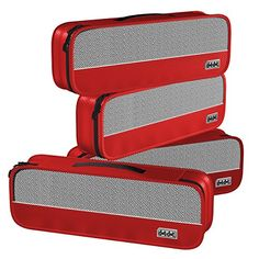4-piece set of Slim Packing Cubes in Red. Storage and Holder for Shoes, Toiletries, Makeup and Cosmetics. http://www.amazon.com/dp/B00JKIT6IA/ref=cm_sw_r_pi_dp_IgFrwb19AJDSZ
