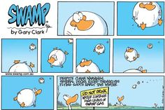One reason why ducks fly south early! http://www.swamp.com.au/search.php?s=s1465 #funny #ducks
