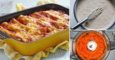 Canelones+vegetarianos+de+zanahoria+y+ricota
