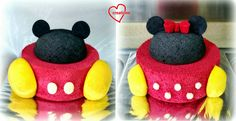 Minnie & Mickey Mouse Chiffon Cakes